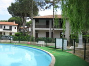 Residence with pool, lido di spina