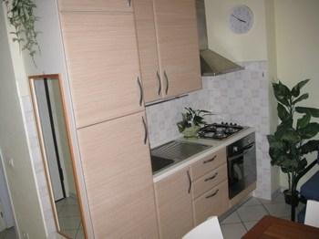 angolo cottura dell'appartamento