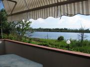 Große Terrasse der Wohnung