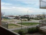 vista sulla spiaggia dalla terrazza