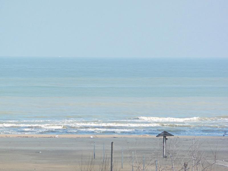 dall'appartamento si vede il mare